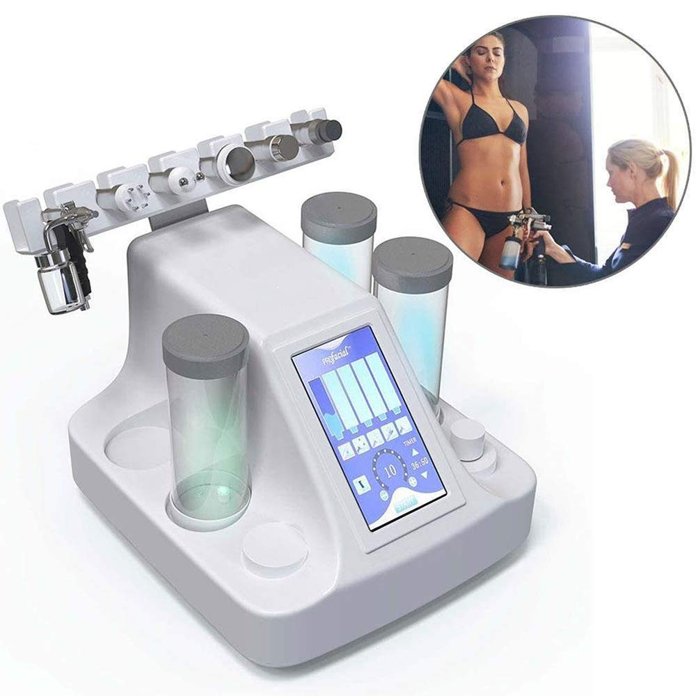 6 IN 1 Multifunctional Moisturizing Rejuvenation Skin Machine Vacuum Suction Remove Acne Anti-Wrinkle Cleansing The Skin Water Oxygen Jet Lifting Micro Facial Beauty SPA Treatment