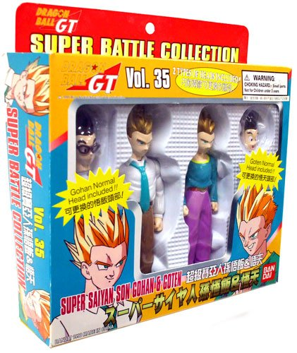 Dragonball GT Super Battle Collection S.S. Son Gohan and Goten