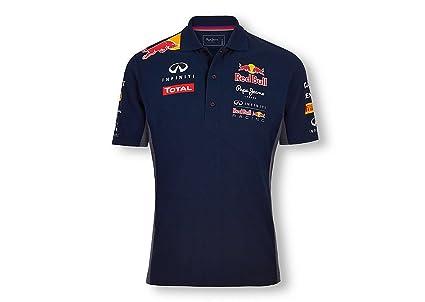 Red Bull Official Team Line Polo para Hombre, Azul Navy, 40 (M ...