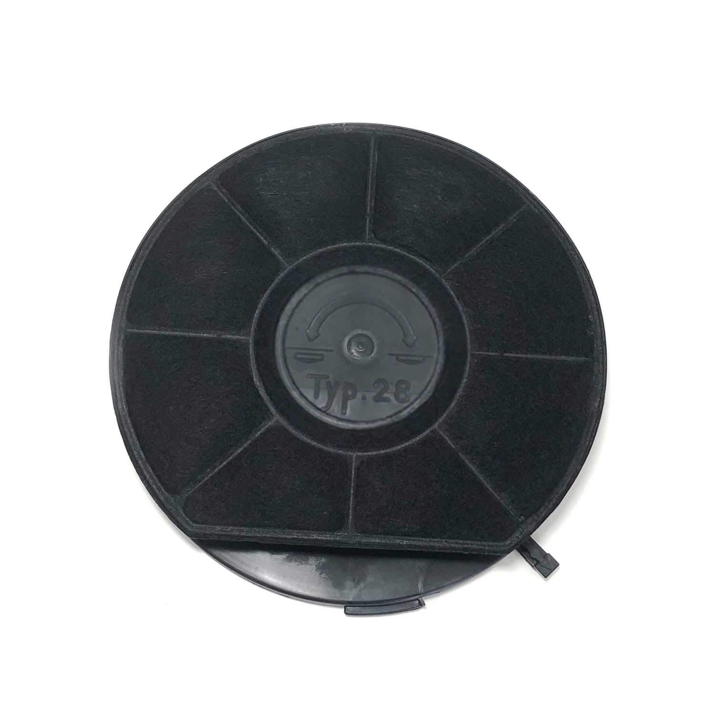 Filtro de carbón activo universal tipo 28, diámetro de 24 cm ...