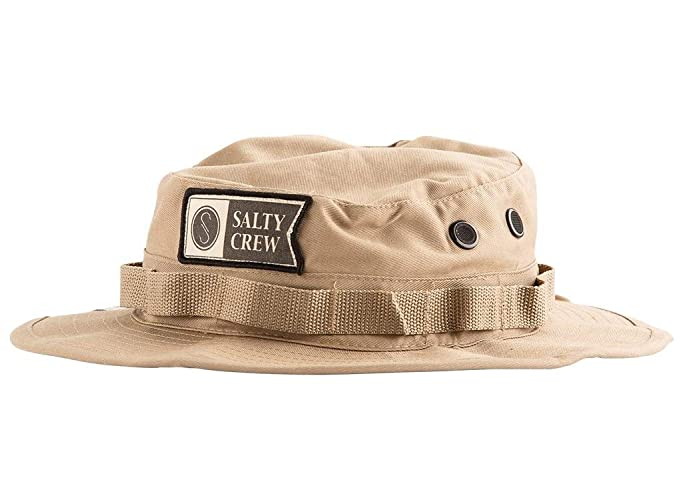 5571cbd1030e7 Amazon.com  Salty Crew Men s Alpha Stamped Bucket Hat  Sports   Outdoors