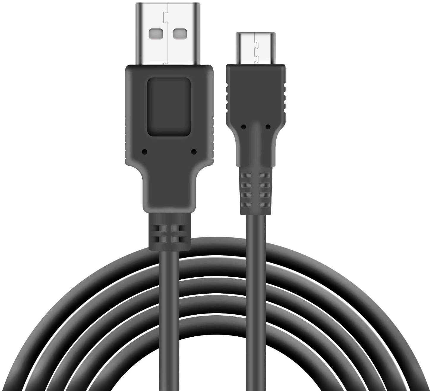 Charger Compatible with Nintendo Switch, Charging Cable Compatible with Nintendo Switch, Charger Cable Compatible with Nintendo Switch Pro Controllers - Black (4.92ft)