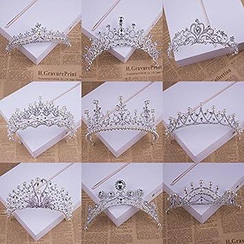 Amazon.com: Cantidad 1 x tocado de la novia coreano _ hand ...