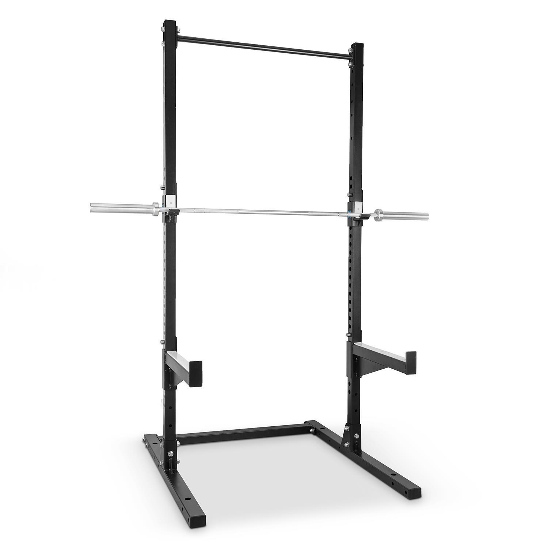 Rack /à Squat Extensible Multifonction pour Pompes Capital Sports Rackster supporte jusqu/à 250kg tractions dips J-Cups et Safety Spotter /à Hauteur r/églable