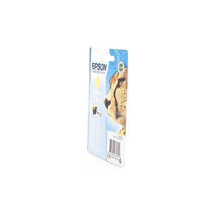 C13T07144010 Epson Stylus D78 Cartucho de Tinta amarillo: Amazon ...