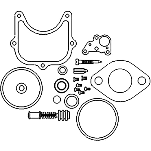 Amazon Com New Economy Carburetor Kit For Holley Carbs Allis