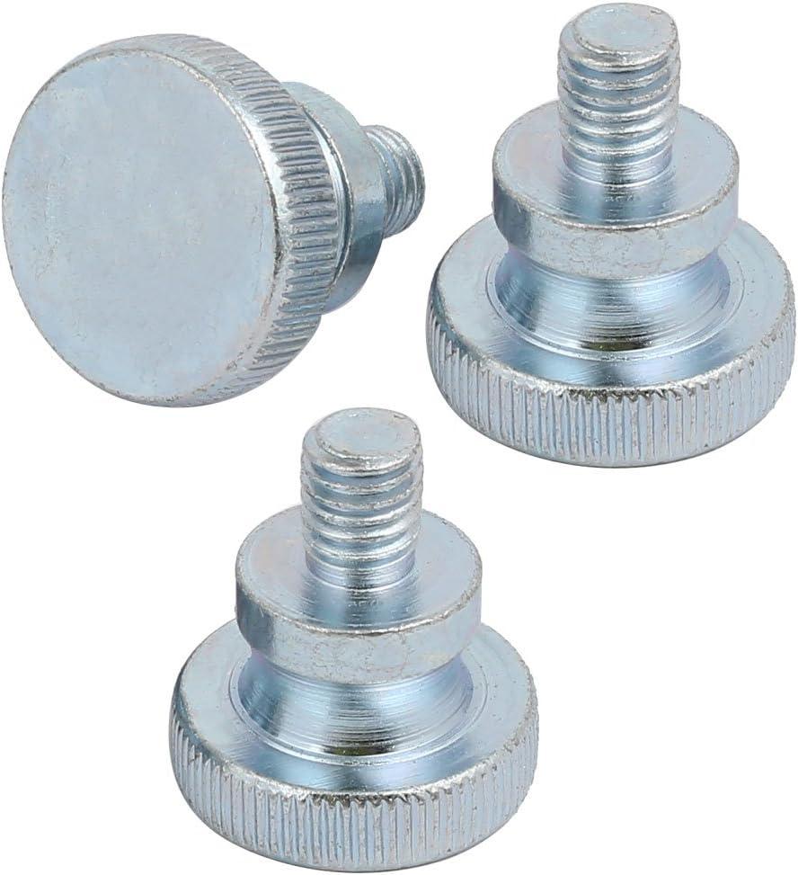 uxcell 30pcs M8x10mm Threaded Insert Nuts Zinc Alloy Hex Socket M8 Internal Threads 10mm Length