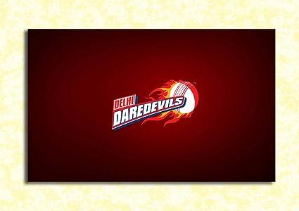 tamatina wall poster delhi daredevils logo ipl team hd quality