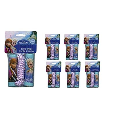 Disney Frozen Jump Rope in bag x 6: Toys & Games