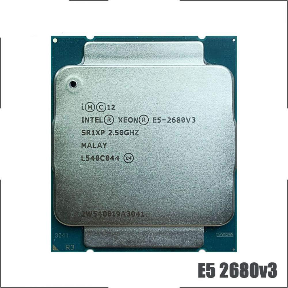 Intel Xeon E5-2680V3 E5 2680v3 E5 2680 V3 2.5 GHz Twelve-Core Twenty-Four-Thread CPU Processor 30M 120W LGA 2011-3