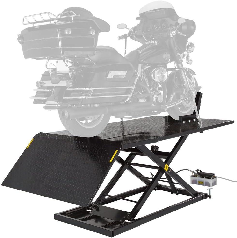 Black Widow Hydraulic Motorcycle Lawn Mower Lift Table