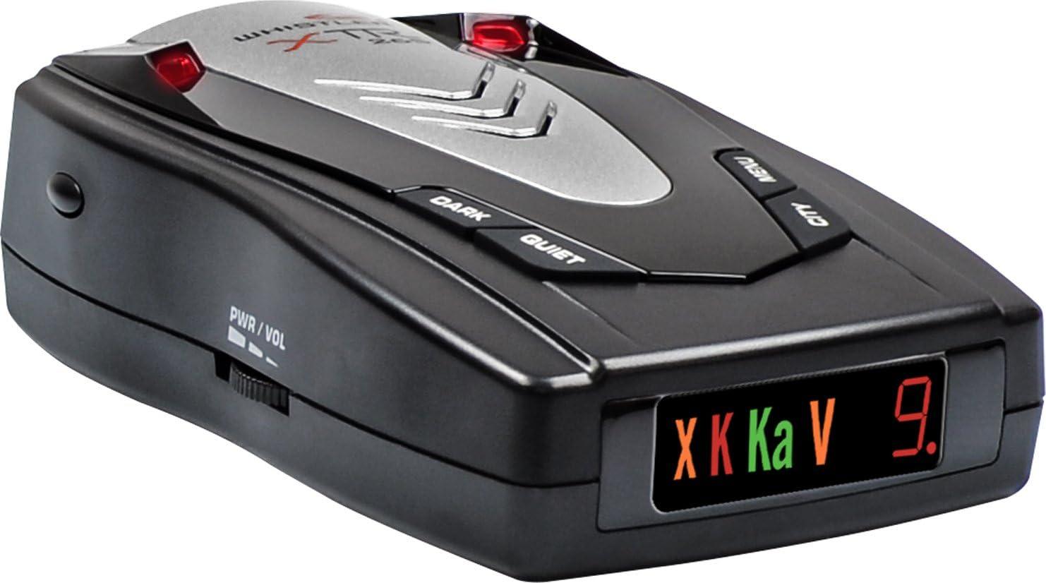Car Electronics Icon Display Whistler XTR-130 Laser Radar Detector ...