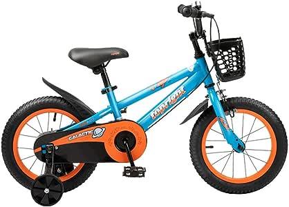 Axdwfd Infantiles Bicicletas 12/14/16/18 Pulgadas Bicicletas De ...