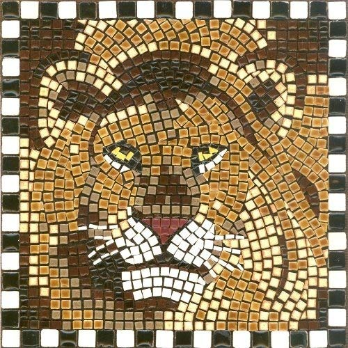 (Lion) - DIY Mosaic Art Kit 7