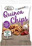 Eat Real Tomato and Garlic Roasted Quinoa Chips, 22 g, Pack of 24