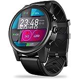 Zeblaze THOR 4 GPS スマートウォッチ 腕時計 SIMカード 対応 Android7.1搭載 OS WiFi Bluetooth MTK6739 2.4GHz / 5GHz 1.6インチ 1GB + 16GBメモリ 耐衝撃性 天気予報 心拍計 歩数計 着信通知など 多機能マートウォッチ 日本語対応 IPhone/Android対応 ハイキング 山登り クライミング スポーツ