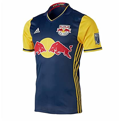 32663aa1e Amazon.com   adidas New York Red Bulls 2016 Authentic Away Jersey ...