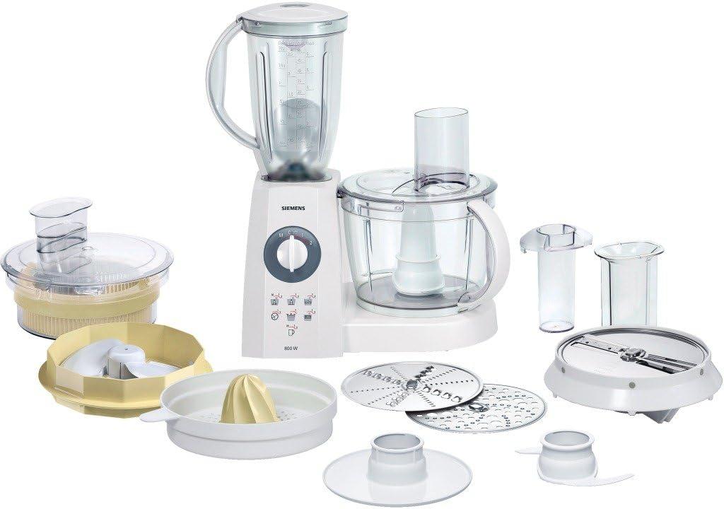 Siemens MK55280 - Procesador de alimentos, Blanco, 5440 g, 330 mm, 340 mm, 240 mm, 220: Siemens: Amazon.es: Hogar