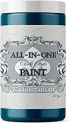 Mediterranean, Heritage Collection All in One Chalk Style Paint (NO Wax!) (32oz)