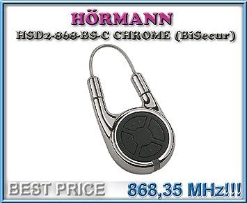 H/örmann Handsender HSD2-868-BS-A Aluminium