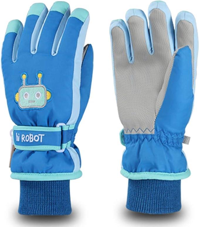 New Boys Girl Snow Ski Gloves Toddler Child Winter Thick Sports Mittens Warmer G