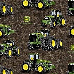 Springs Creative John Deere Fabrics John Deere Proven Power