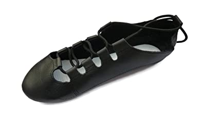 e982ec5b686a Scottish Highland Country Dance Shoes Soft Leather Full Suede Sole  Brigadoon (10 UK 28 Eur