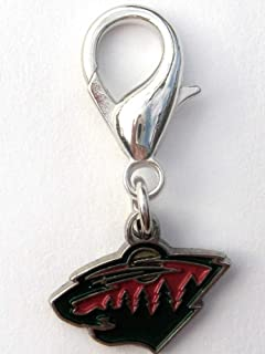 product image for Diva-Dog NHL Hockey 'Minnesota Wild' Licensed Team Dog Collar Charm
