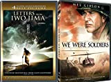 We Were Soldiers & Letters from Iwo Jima Special Edition 2 Disc DVD War Pack Movie Set
