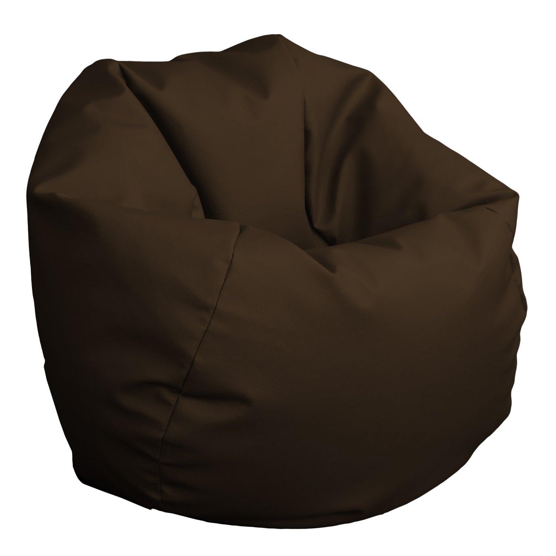 HAPPERS Puff Pelota 60cm diámetro (Chocolate): Amazon.es: Hogar