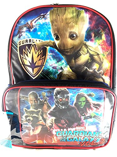 Guardians Galaxy Backpack Matching Lunch