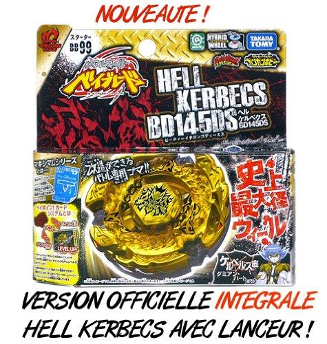 Hell Kerbecs TRES RARE - Version officielle intégrale avec lanceur - Nouvelle saison Beyblade Metal Fusion 2 (Metal Masters) product image