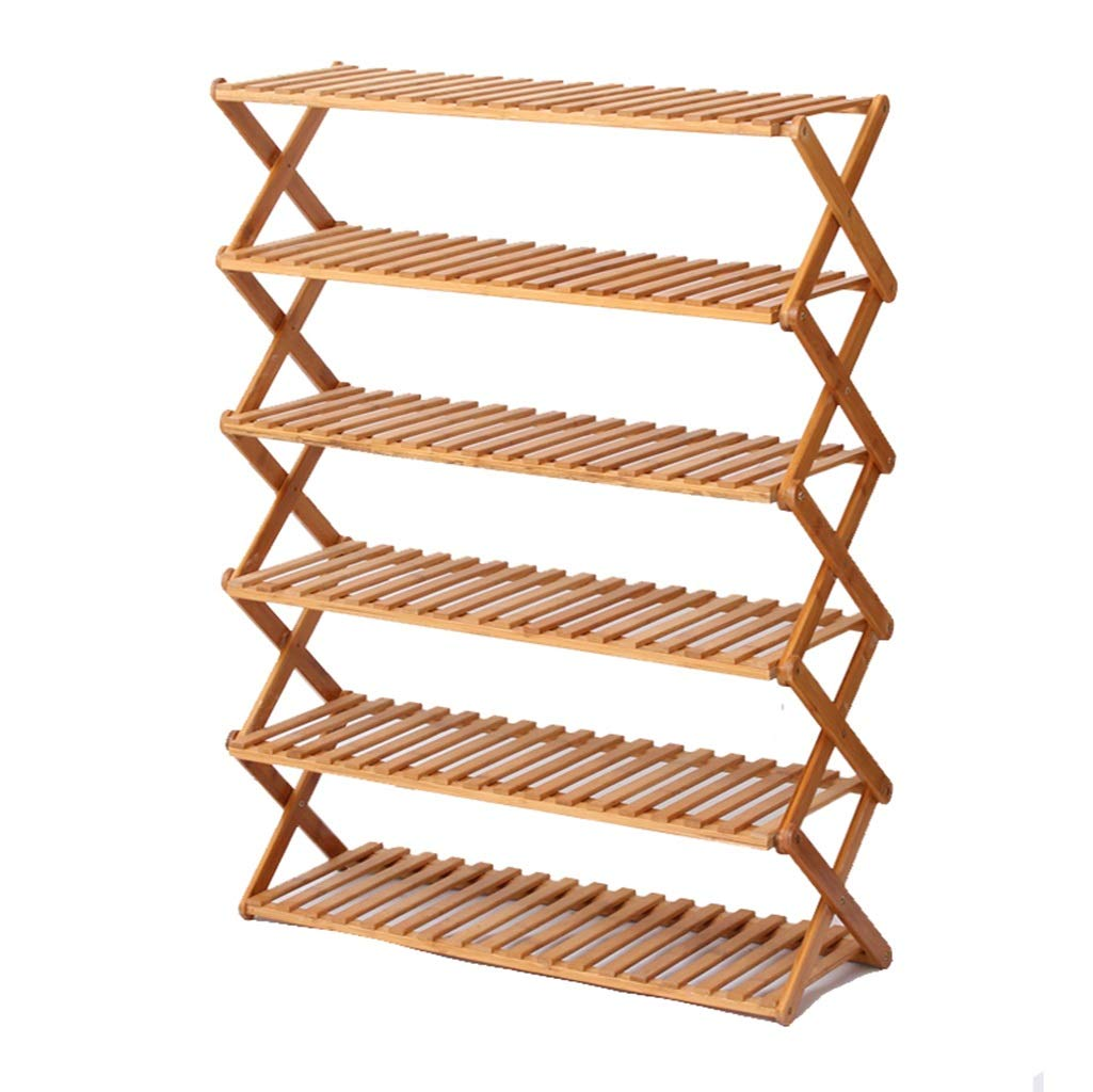 Uulhy XJIA Multi-Layer Shoe Rack, Home Space Shoe Rack Simple Multi-Layer Door Porch Assembly Shoe Rack Multi-Function Rack Flower Stand (Size : 1002896cm)