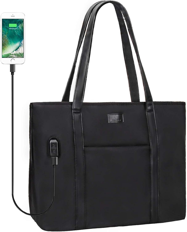 Women/'s waterproof nylon tote bag shopping bag leisure travel work bag storage