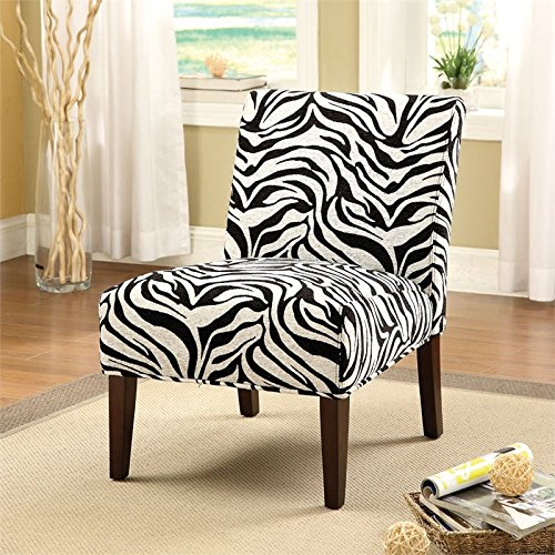 Zebra Accent Chair - 1