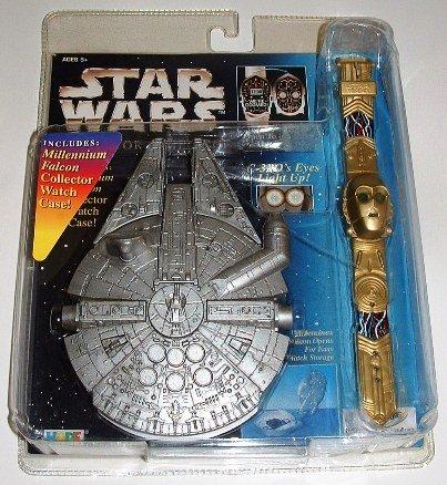 Star Wars C-3PO Millennium Falcon Collector Timepiece Watch w/ Case