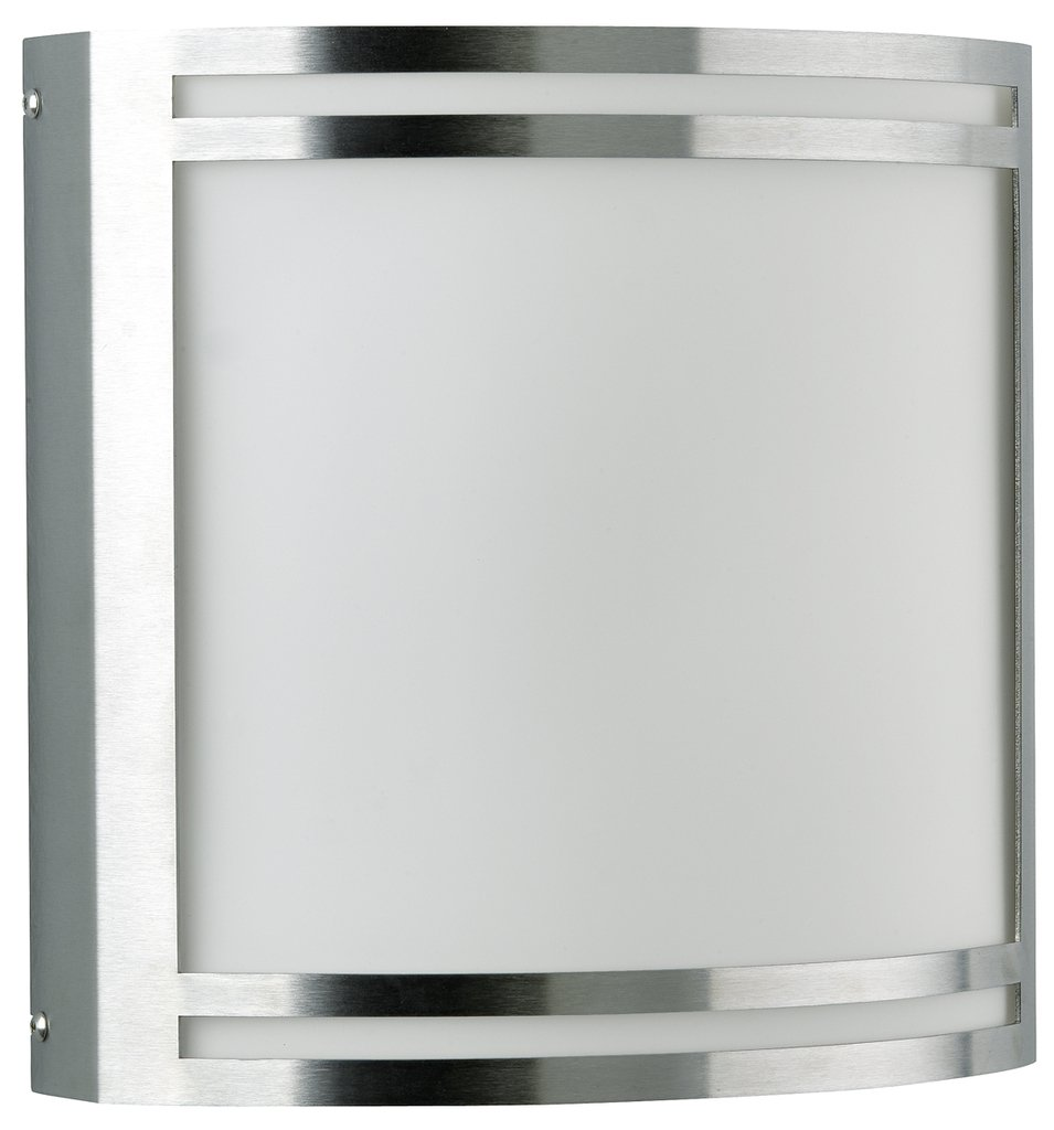 Albert 696407 applique da parete, Vetro, Integrated, argentoo