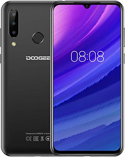 DOOGEE N20 2019 Smartphone Libre 4G, Android 9.0 Telefono Movil ...