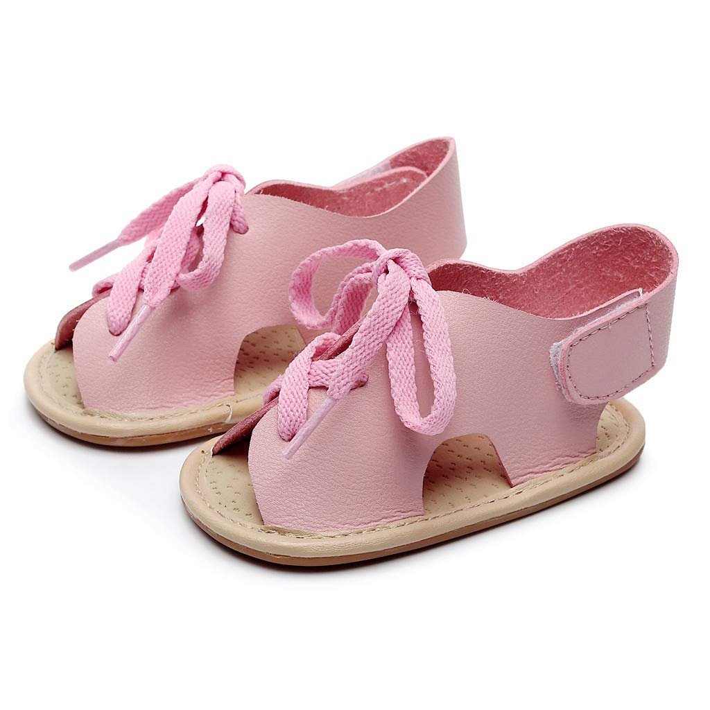 6a2dfb71445ab Amazon.com: Toponly 1-3 Yrs First Walkers Baby Girls Sandals Shoes ...