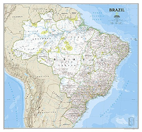 Brazil Classic [Laminated] (National Geographic Reference Map)...