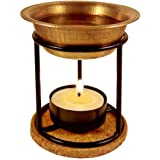 Aromafume Exotic Brass Oil Diffuser (Use for Essential Oil, Aroma Oil, Diffuser Oil, SPA, Yoga, Meditation, Home Fragrance) (Exotic)