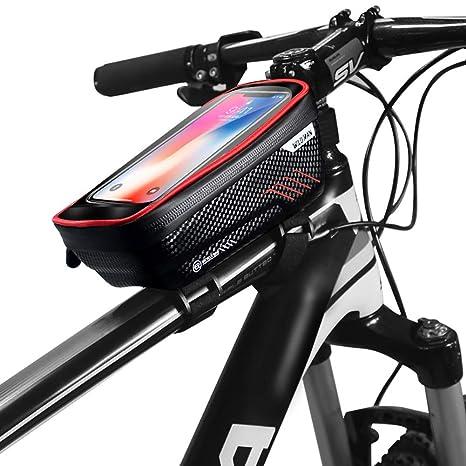 Lcme Bolsa para el Cuadro Delantero del teléfono de la Bicicleta ...