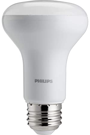 Philips 45 W Equivalente blanco suave R20 luz efecto de iluminación con cálido resplandor LED regulable bombilla: Amazon.es: Bricolaje y herramientas
