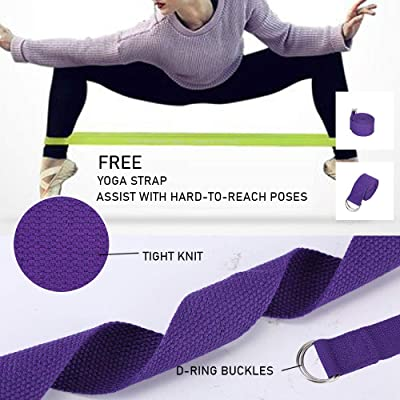 Yoga Fitness Wheel Back Pilates Cushion Roller Stretch Muscles Equipment Trainer