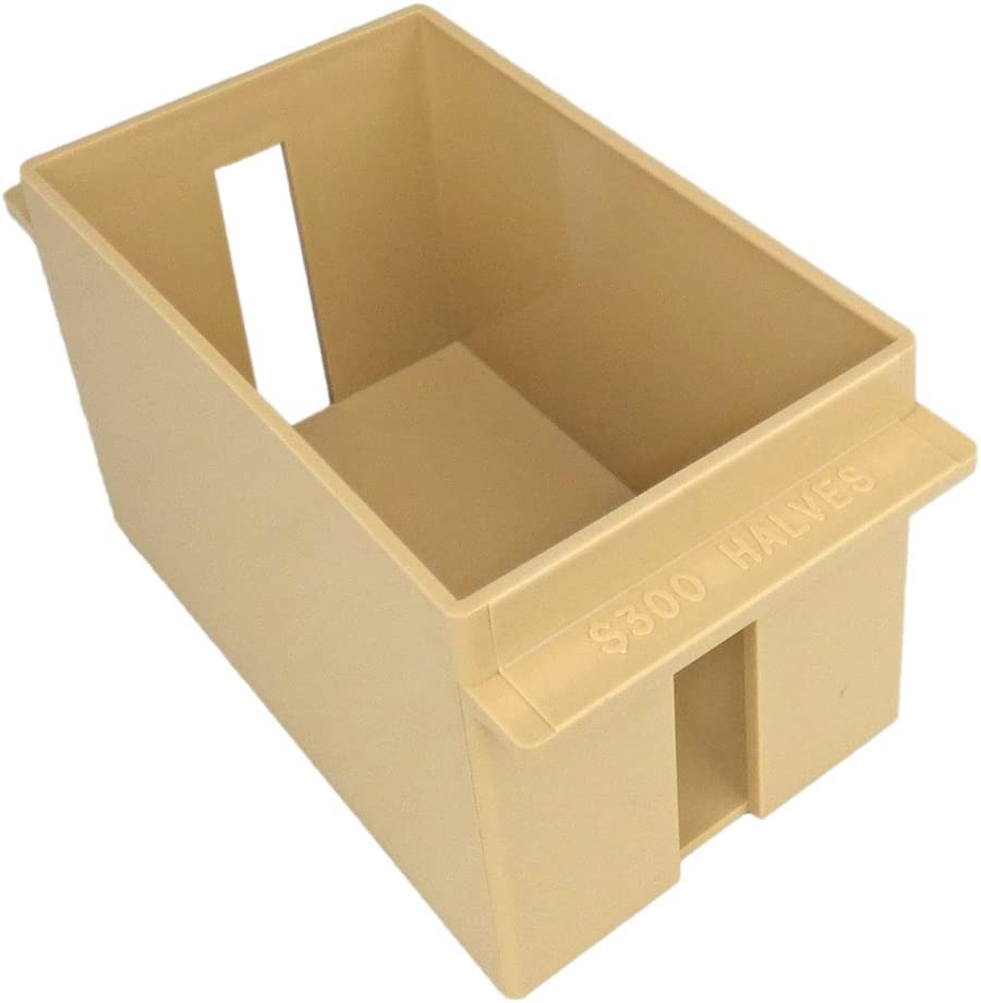 Penny /& Cents Roll Box Strong Plastic Tray Large Capacity Hold 25 Dollars US