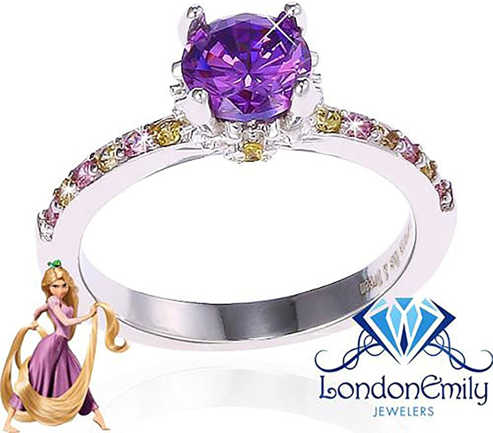 Amazon Com London Emily Jewelers Everyone Has A Dream Ring Rapunzel Tangled Disney Inspired Ring Jewelry