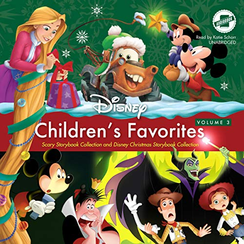 Children's Favorites, Vol. 3: Scary Storybook Collection and Disney Christmas Storybook Collection (Audio Favorites Book Christmas)