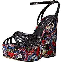 Alice Olivia Sarah Black Aramis Emboss Snake Women's Shoes