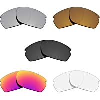 Glintbay 5 Pairs Replacement Lenses for Oakley Carbon Shift Pack-BSMBC