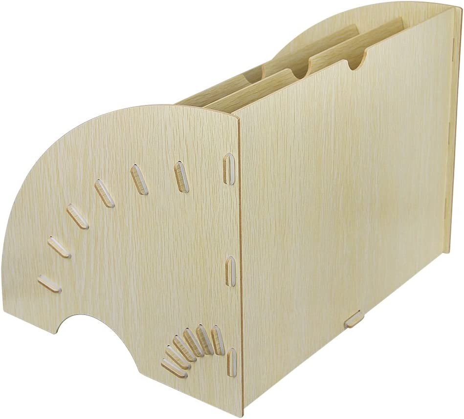 portadocumentos de tama/ño A4 con 6 compartimentos dise/ño en forma de abanico color blanco A4 YJZQ Almacenamiento para oficina personalizable organizador para carpetas de papel